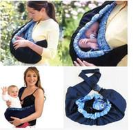 al por mayor kids wholesale-Recién Nacido delante Baby comodidad del portador de porta bebés de los niños del niño del abrigo infantil del saco de Carrier mayor del envío