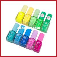 base nail enamel - bidwise Colors Fluorescent Luminous Neon Glow In Dark Varnish Nail Art Polish Enamel