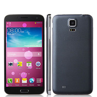 Wholesale Star G8000 S5 quot Capacitive Screen MTK6582 Quad Core Phone GHz Android Camera MP MP GB GB GPS OTG G Black flip case