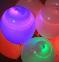 Wholesale 25pcs Led Balloon Flash Ballon Christmas gift Wedding Birthday and Party Decoration Color light up balloon Freeshippig