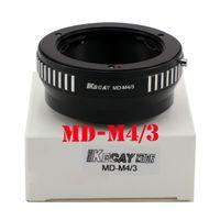 camera lens minolta - MD M4 Minolta MD MC Lens to OLYMPUS M Camera M4 Mount Adapter