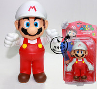 Wholesale Supply of Super Mario Super Mario inch plastic doll doll sohana state Whitecaps red pants Mario retail selling