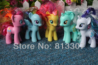 Wholesale Hot sell new arrival my little pony figures toy set free ship Only a few limited edition left order it now