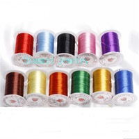 Wholesale Meters Crystal Stretchy Elastic Thread amp Line Cords Wire DIY Bracelet Beading Colors