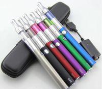 Wholesale Evod mini protank pyrex glass electronic cigarette starter kit e cig cigarette kit mini pro tank cigs cigarettes DHL free from cardmate