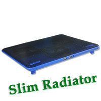 2 Three Fans Plastic New 2port usb hub 3 fan hot sale Super slim laptop radiator Notebook Cooling Pad Cooler Fan Cool