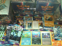 Wholesale Best Gift Pokemon Card card pokemon English Game Includes energy card HP is normal