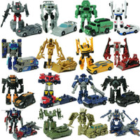 Wholesale Hasbro Transformers toy can become to car children s educational herf toys