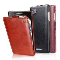 for Lenovo Leather White Lenovo Vibe Z K910 Mobile Phone Case Protective Cover PU Leather Flip Up and Down Pouch IMUCA Brand New smartphone accessories