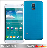 Wholesale Quad Core MTK6582 FHD IPS Screen S5 i9600 G900F Smartphone FWVGA Capacitive Android4 WIFI G Air Gesture