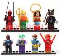 Wholesale Super Heroes The Avengers Iron Man Hulk Batman Wolverine Thor Building Blocks
