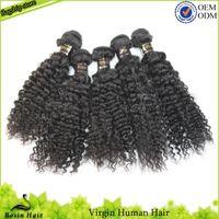 Virgin Brazilian Curly Hair Pro Hair Curl Grade 5A Cheap Unp...