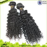 3 Bundles Malaysian Kinky Curly Virgin Hair Queen Hair Produ...