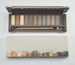 Wholesale HOT NEW Makeup Nude Eye Shadow Colors Eyeshadow plate x1 g gift