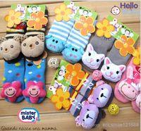 Wholesale 2014 hot selling baby cartoon socks Animal style infant socks D shoes Anti slip baby socks floor socks