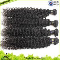 Malaysian Virgin Hair Black,1B#  Virgin Curly Hair 5A 3PC lot Cheap Virgin Malaysian Hair Weave Malaysian Kinky Curly Hair Extensions
