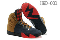 Wholesale Free Shippment Kevin Durant Basketball Shoes KD VI NSW Lifestyle QS People Champ Denim Sports Shoes KD VI Sneakers Mens Athletics Boots