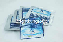 Wholesale Teeth Whitening Strips Double Elastic Gel Strips MSDS certification pouch per set HP Gel mint flavor