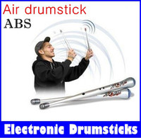 Wholesale big promotion for days Rock Beat Rhythm Stick Electronic Drum Sticks Air drumstick for kid new