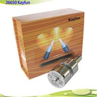 4.5ml big lite - 26650 kayfun lite plus ml Big Vaporizer mm Kayfun lite Plus Clone Atomizer for Hades mod panzer mod black stingray Dreadnaut