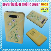 Wholesale B003 mAH V A power bank or mobile power for tablet pc mp3 mp4 cell phone speaker for onda v973 v972 v818 v813 v712 novo7