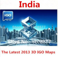 Wholesale IGO gps maps India Maps For Android or Wince system or Android system GPS