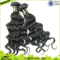 Grade 5A Indian Virgin Hair Loose Wave 3 Bundles of Human Ha...