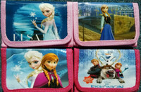 12pcs Frozen Elsa Anna cartoon wallet change pocket Frozen p...