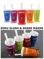 Wholesale Original Quality Zoku SLUSH SHAKE Ice Cream MAKER juicy Colors Make slush fast within minutes