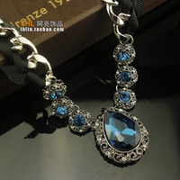 Wholesale Necklace female Korean fashion wild bohemian luxury crystal diamond complex models clavicle lanyards personalized ornaments tide