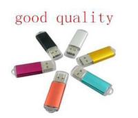 Wholesale USB Flash Memory Stick Drive Aluminum usb disk TB usb stick thumbdrive pen drive gift