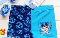 Boy Swim Trunks 104-110,116-122,128-134,140-146 free shipping kids boys swimsuits swimmers bathers blue swim trunks 8pcs lot