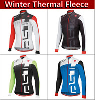 jacket team - Supply thermal fleece long jacket Brand New Professional Team Cycling Long Jersey winter cycling clothing accept customize