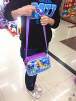 Wholesale New Cartoon Girls Children Kids Baby Small Shoulder bags Frozen Anna Elsa Olaf Prince School bags handbags best gift