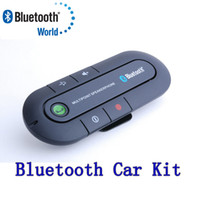 Cheap Free shipping Universal Hands Bluetooth Car Kit Arrival Multipoint speakerphone Headset Bluetooth Speaker for All Smartphones