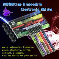 Cheap colorful 500Puffs e ShiSha Pen Disposable E Cigarette Smoking 280mAh hookah Pipe SOMKE Stick Electronic Cigarettes Smoking ele