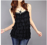 Cheap Women layers lace Best Camis Polyester lace lace