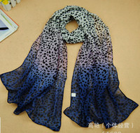 Wholesale Hot Sale color Girls Light Leopard Print Chevron Infinity Scarf X CM z247
