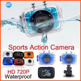 Waterproof Sport Helmet Camera HD 720P Extreme Sports Action Camera Car DVR Sports Video Camera Camcorder DV 2 Inch Touch Screen