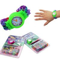 Cheap 5-7 Years Loom watch Best Multicolor Plastic Rainbow Loom