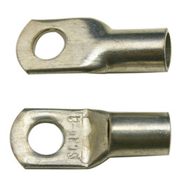 Wholesale Freeshipping Brass Crimp Terminal Crimpable Ring Terminals SC For Battery Cable Lugs Holes