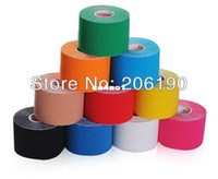 Wholesale High quality rolls Kinesiology Kinesio Tape Elastic Bandage CM M ROLL Mixed Color