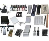 Beginner Kit   US seller_NEW Professional Machines Tattoo KIT 1 Machine GUN Equipment INK GUN SET US0012