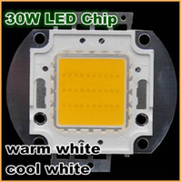 Wholesale 30W LED Cool Warm White Beads High Power lights chips beads for Spotlight Lamp floodlight