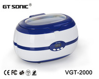 Wholesale Eyeglass Ultrasonic Cleaner tank denture Cleaning machine ml for watch jewelry lens baby items cleaning VGT