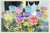Wholesale packs New Magic Style Crystal Mud Soil Water Beads Flower Planting Plant Flower dandys