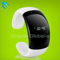 Wholesale LED Bluetooth Bracelet with Caller ID Display Smart Wireless Bracelet Bluetooth for Iphone Samsung Smart Phone Bluetooth Watch Bracelet