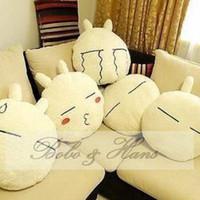 Wholesale NEW Soft Cartoon rabbit Lumbar Pillow Plush cartoon seat cushion Home Textile Gift