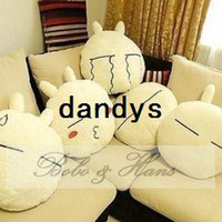Wholesale NEW Soft Cartoon rabbit Lumbar Pillow Plush cartoon seat cushion Home Textile Gift Who
