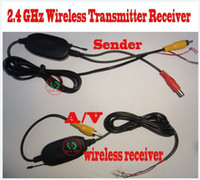 Rear View Camera HUIMU Acura,Aston Martin,Audi,Bentley,BMW,Buic 2.4 Ghz Wireless RCA Video Transmitter Receiver kit for car dvd car monitor to connect the car rear view camera reverse backup
